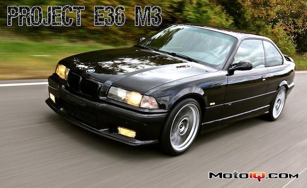 Project E36 M3