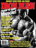 March 2009 Iron Man Cover Jonathan Lawson - 20 Pounds of Muscle