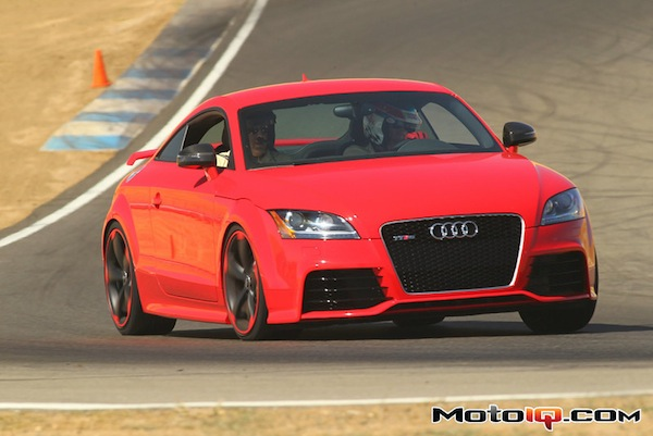 Audi TT on track - Lockton Motorsports HPDE Insurance