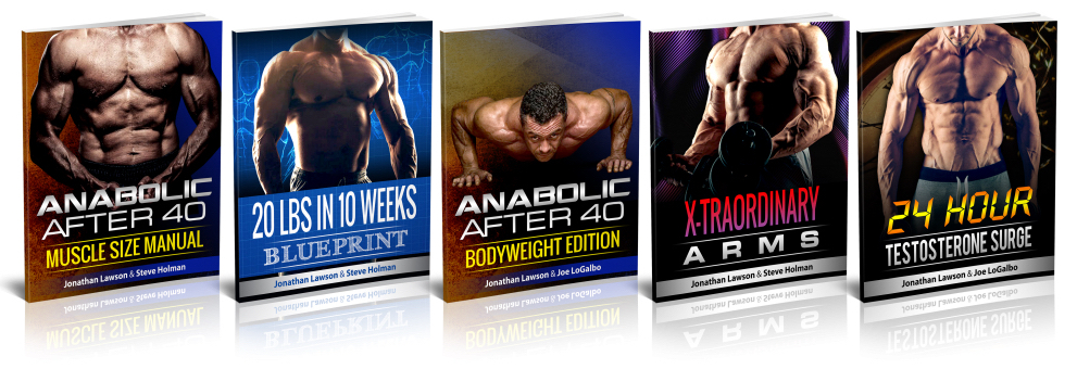 Anabolic After-40 Muscle Size Manual plus freebies