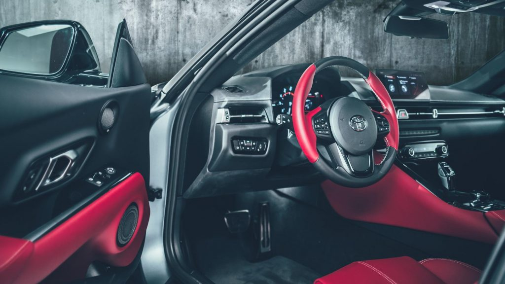 New Toyota Supra interior