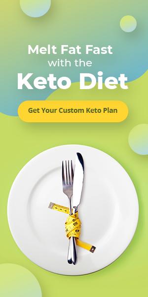 Custom Keto Diet banner ad