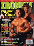 February 1998 Iron Man Cover Jonathan Lawson - 20 Pounds of Muscle
