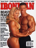 January 2003 Iron Man Cover Jonathan Lawson - 20 Pounds of Muscle