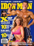 March 2005 Iron Man Cover Jonathan Lawson - 20 Pounds of Muscle